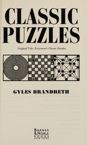 Cover of: Classic Puzzles |