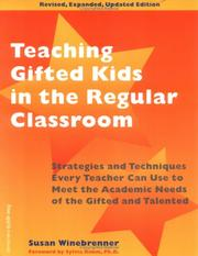 Cover of: Teaching gifted kids in the regular classroom