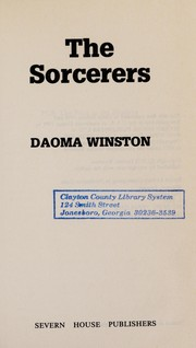 Cover of: The Sorcerers | Daoma Winston