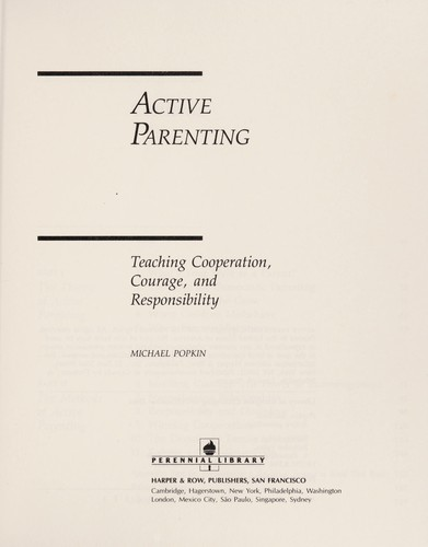 Active parenting by Michael Popkin