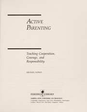 Cover of: Active parenting | Michael Popkin