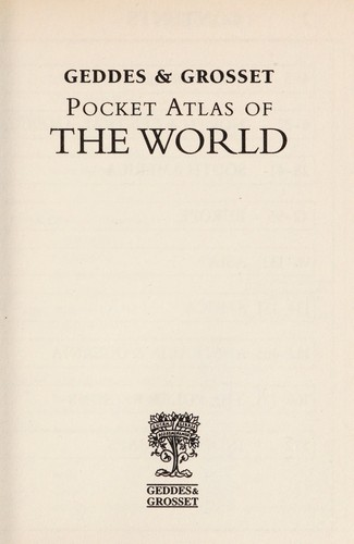 Pocket atlas of the world by