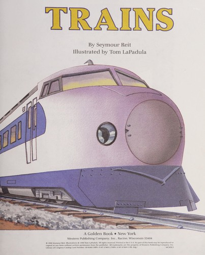 Trains by Seymour Reit