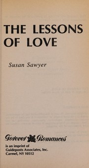 Cover of: The Lessons Of Love
