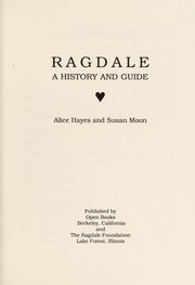 Cover of: Ragdale