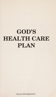 Cover of: God's Health Care Plan