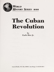 Cover of: The Cuban Revolution | Earle Rice