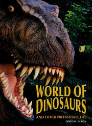 Cover of: World of dinosaurs and other prehistoric life