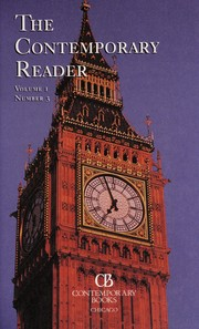 Cover of: The Contemporary Reader (Vol. 1, Number 3) |
