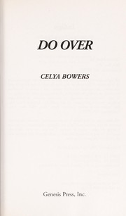 Cover of: Do over | Celya Bowers