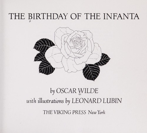 The birthday of the infanta by Oscar Wilde