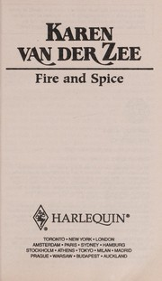 Cover of: Fire and Spice (HARLEQUIN  PRESENTS)