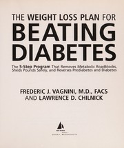 Cover of: The weight loss plan for beating diabetes | Frederic J. Vagnini