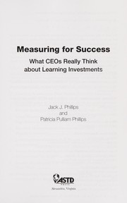 Cover of: Measuring for success | Jack J. Phillips