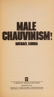 Cover of: Male chauvinism!