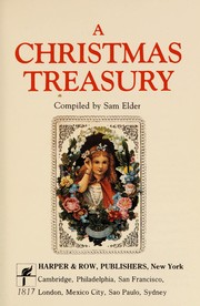 Cover of: A Christmas treasury |