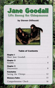 Cover of: Jane Goodall | Steven Otfinoski