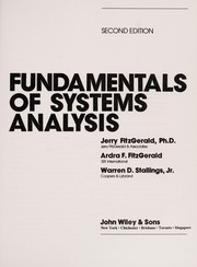 Cover of: Fitzgerald Fundamentals of Systems Ana