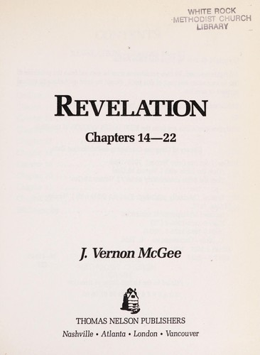 Revelation III by J. Vernon McGee