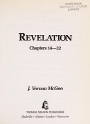 Cover of: Revelation III | J. Vernon McGee