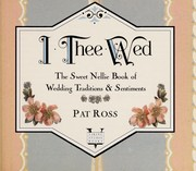 Cover of: I thee wed