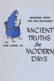 Cover of: Ancient Truths for Modern Days |