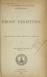 Cover of: Frost fighting