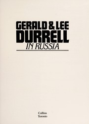 Cover of: Gerald and Lee Durrell in Russia