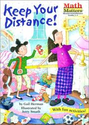 Cover of: Keep Your Distance (Math Matters)