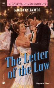 Cover of: The Letter of the Law: Silhouette Intimate Moments #393