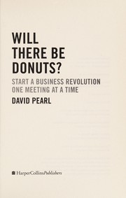 Cover of: Will there be donuts? | David Pearl