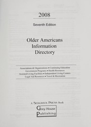 Older Americans information directory