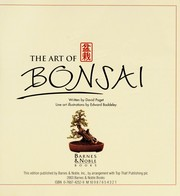 Cover of: the art of bonsai |