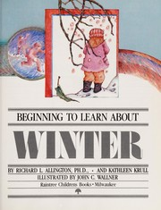 Cover of: Winter | Richard L. Allington