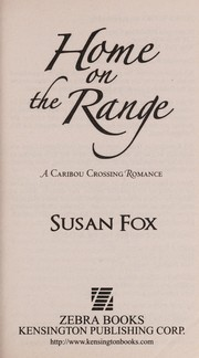 Cover of: Home on the range | Susan Fox