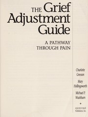Cover of: Grief Adjustment Guide: A Pathway Through Pain