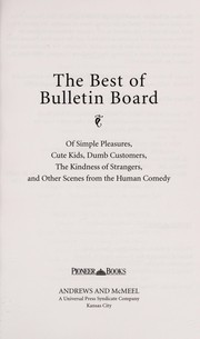 Cover of: The Best of Bulletin board |