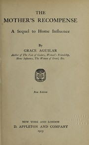 Cover of: The mother's recompense