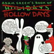 Cover of: Adam Green's book of hollow days