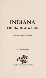 Cover of: Indiana | Bill Thomas
