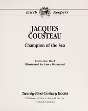 Cover of: Jacques Cousteau | Catherine Reef