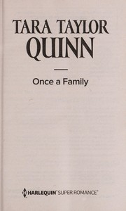 Cover of: Once a family