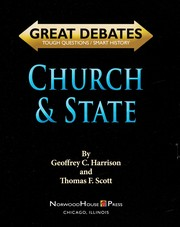 Cover of: Church & state | Geoffrey Harrison