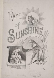 Cover of: Rays of sunshine. |