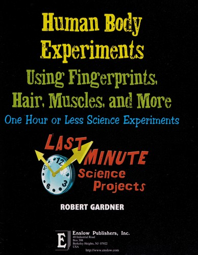 Human body experiments using fingerprints, hair, muscles, and more by Robert Gardner