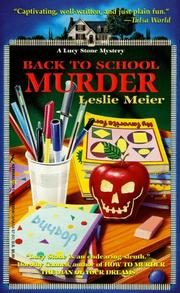 Cover of: Back To School Murder: A Lucy Stone Mystery (Lucy Stone Mysteries)