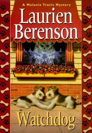 Cover of: Watchdog | Laurien Berenson