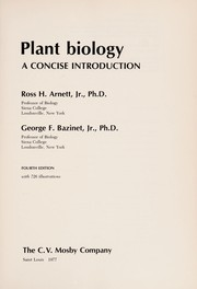 Cover of: Plant biology | Ross H. Arnett