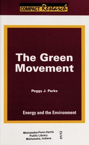 Cover of: The green movement