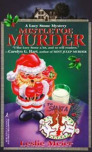 Cover of: Mistletoe Murder: A Lucy Stone Mystery (Lucy Stone Mysteries)